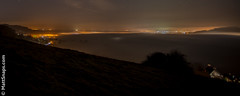 Night Fog 3 (MattSnapsPhotography) Tags: fog night landscape view stroud selsley lightsmist