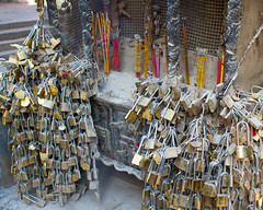 ( Ding, Incense, Locks and Love) /  Mount Tai, Shandong Province  /   China Tourism / SML.20121011.7D.09499 (See-ming Lee  SML) Tags: china travel mountains love tourism metal cn photography crazy  locks qingdao ding materials incense 2012 shandong taishan taian sml canon2470f28l  ccby    chinatourism   smlprojects crazyisgood smluniverse  canon7d smlphotography        photographer:initials=sml photographer:name=seeminglee company:name=smlphotography company:name=smluniverse SML:Projects=crazyisgood smltravel SML:Travel=qingdao photographer:name=sml SML:Projects=chinatourism SML:Projects=smltravel SML:Travel=shandong    photographer:name=seemingleephotographername