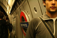Westminster (migliorare con l'et :)) Tags: street uk portrait london westminster underground grey metro tube londontube150