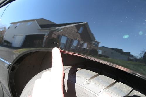 Driver's Side Scractch