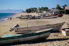 Bahia De Kino, Mexico (Kristaps Hercs) Tags: trip travel blue sea copyright usa beach de mexico boats boat fishing kino bahia cortez 2012 gadi asv ceļojums hercsfoto kristapshercs asvtrip