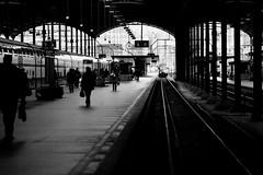 Lucerne Main Station (trzebiatowski) Tags: bw station schweiz switzerland luzern bahnhof lucerne
