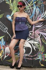 Lgia (Vanderlei Gomes Fotografia :-]) Tags: brazil woman girl rock brasil model mulher modelo teen blonde roll garota paulo tatoo menina so tatuagem rockeira