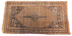 77.  Semi-Antique Persian Area Rug