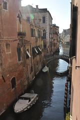 DSC_0001 (bikerchisp) Tags: venice italy ital italia venise canals lagoon bridges gondola holiday vacation europe adriatic sea water waterways streets blue sky bluesky sunshine bikerchisp