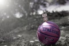 (Lemuel Montejo) Tags: danbo pepsi spalding basketball bokeh outdoor