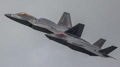 """Stealth Fighters"" (Steve Cooke-SRAviation) Tags: airplane display jet aeroplane airshow f16 raptor f22 vulcan redarrows mig fairford riat f35 2015 warplanes sraviation lightningll canonstevecooke"