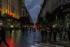 Diagonal Norte (N!co27) Tags: buenosaires urbanstreet nightlight rain