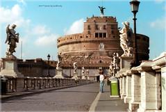 . (zioWoody) Tags: roma rome castelsantangelo mausoleodiadriano mausoleo adriano castel castello fortezza santangelo angelo