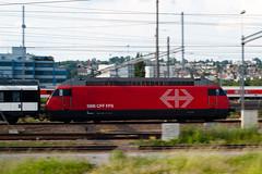 The race machine (jaeschol) Tags: a900 eisenbahn elektrischelokomotive europa kantonzrich lokomotive re460 re460060 schweiz sony sortieren switzerland transport valdetravers zrich motion moving panning train travel
