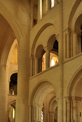 oh Escher (xiffy) Tags: labbatiale normandy normandie cerisylafort church arch arches perspective escher