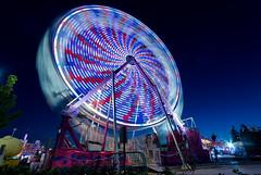 Carnival (explored) (Nicoli OZ Mathews) Tags: cne theex ferriswheel carnival lights toronto