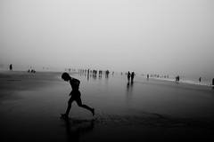 mist beach by JTexposure -