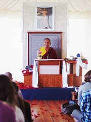 Dzigar Kongtrul Rinpoche teaching in Bohatch Ireland (Olivier Rich) Tags: dzigar kongtrul rinpoche bohatch mangala shri bhuti