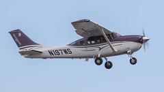 Cessna T206H Stationair TC N197WS (ChrisK48) Tags: 2015 206 aircraft airplane cessnat206h dvt kdvt n197ws phoenixaz phoenixdeervalleyairport stationairtc t206