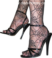 Dea-Honey-sexy-high-heel-High-Heeled-Sandals-9-my-sexy-high-heel-with-web-stocking (deahoney) Tags: sexy high heel feet fetish stocking toes