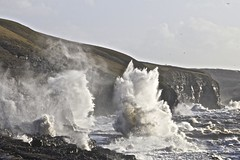 The Waves (pauldunn52) Tags: ogmore deeps waves crashing spray southerndown cliffs sea glamorgan heritage coast wales