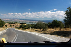 Road, lines, clouds and... (GeorgeKats) Tags: road roadtrip clouds greece greek greekcountryroads volvi macedonia macedoniagreece macedonian makedonia timeless