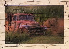 Peeling Paint      ...HTT! (jackalope22) Tags: htt truck artisitc sliders corn farm painterly chevy
