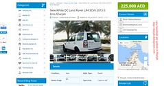 New White DC Land Rover LR4 SCV6 2015 in Sharjah (nishajoshi649) Tags: land rover dc sharjah uae ajman uaq classified ads webiste website advertising adventurous advertisement