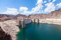 Lake Mead / Hoover Dam (Josh Patterson Photo) Tags: hoover hooverdam mead lakemead water mojave mojavedesert sky rock stone lake reservoir engineering desert