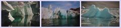 Grnland***Greenland***Kalaallit Nunaat (BrigitteE1) Tags: grnland greenland kalaallitnunaat eis ice eisberg iceberg growler gletscher glaciers gletscherabbruchkante glacierescarpment reflection reflexion wasser water blau blue trkis turquoise aqua
