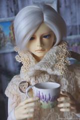 Happy Birthday, Infant ^_^ (Ermilena Puppeteer) Tags: leekeworld leekeworldadolf porcelain handmadeforbjd bjd abjd infant
