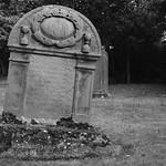 grave stone at Gogar