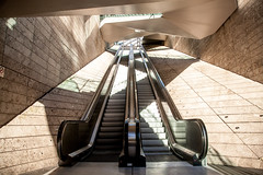 Going up (Bart Weerdenburg) Tags: escalator stairs stair goingup roltrap liverpool liverpoolone shopping zigzag lines architecture shapes abstract art