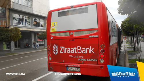 Info Media Group - Ziraat Bank, BUS Outdoor Advertising, Banja Luka 08-2016 (3)