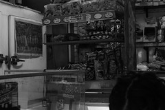eye (sebastinsantanacisterna) Tags: eye eyes monocrome moment mirada tienda kiosko negocio timido blancoynegro blanco negro urban place alpha photograpy people santiago old indoor santana detalle casual neighborhood 45mm