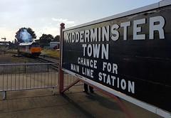 50031 - Hood Rededication - Kidderminster - SVR - 17/9/16 (A Neds Perspective) Tags: class 50 50031 hood severn valley railway kidderminster fifty fund