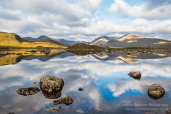 Lochan na h-Achlaise (andrew benham) Tags: glencoe scotland sky fell highlands mountains running skyline trail ultra