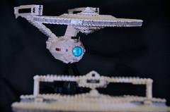 DSC_4775 (jonmunz) Tags: wrath khan uss reliant lego enterprise tos