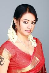 South actress Madhu Chanda Photos Set-1-Hot In Saree (6)