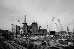 Power station (danielesandri) Tags: londra london england powerstation battersea biancoenero bw fujixt10 samyang 12mm