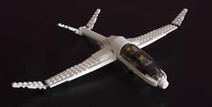 Windcatcher (LEGO_MOCkingJ) Tags: glider sailplane lego moc