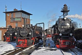 Wernigerode steam depot