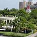Parque del Cabrero con il monumento alla costituzione