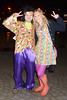 Alan Fogarty, Maria Fogarty Fans arrive at the Farewell To 2012 Fancy Dress Party at the Florence & The Machine concert at The O2, Dublin, Ireland -