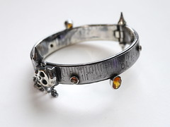 Steel Rule Bangle - 8