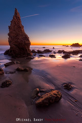 Color and shadow at El Matador (Michael Bandy) Tags: seascape color beach landscape coast nikon malibu coastline 1020mm beachsunset elmatador sigma1020mm 10mm losangelescounty coastalrocks d80 elmatadorstatebeach nikond80