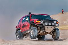 ORP 3 (Najim J. Almisbah) Tags: 3 jump desert 4x4 action toyota kuwait fj cruiser xtreme 2012   orp