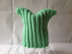 Ribbed Baby Hat (Running with Sharpies) Tags: baby green hat mint babyhat mintgreen ribbedpattern