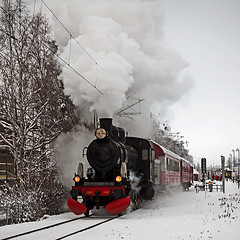 steam (magnusl67) Tags: winter white snow train sweden steamengine jmtland stersund canoneos50d magnuslgdberg