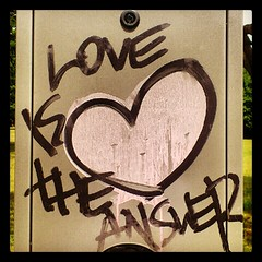 love is the answer (KJlogo) Tags: love graffiti hungary tag budapest answer węgry budapeszt flickrandroidapp:filter=none