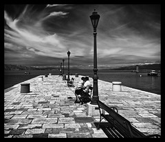 rest time... (Paul Lapinski) Tags: travel sea bw croatia chorwacja apiski rememberthatmomentlevel1 rememberthatmomentlevel2