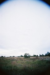. (alvgin) Tags: road summer film home pentax pentaxk1000 coming plain 2012 swampy harku