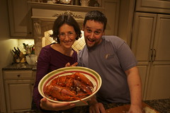 Xmas Eve Dinner (Jonathan Zurick) Tags: christmas family holiday cooking dinner canon eos holidays december cook lobster christmaseve 2012 50d canon50d lobsterrisotto