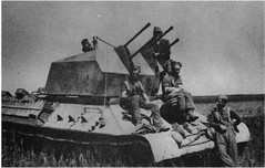 2 cm Flakvierling auf Fahrgestell T-34 747(r) A white elephant of schwere Panzerjger-Abteilung 653 (Krueger Waffen) Tags: war tank wwii armor armored waffenss flak tanks panzer secondworldwar afv worldwartwo armoredvehicle armoredcar wehrmacht t34 sdkfz pzkpfw russiantank selfpropelledgun flakpanzer beutepanzer russianarmor flak38 secondworldwartanks worldwartwotanks tanksofthesecondworldwar antiaircraftvehicles